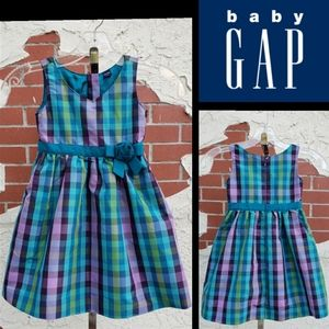 3 Years BABY GAP plaid tulle fancy dress 3T